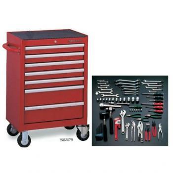 Thùng đồ nghề 87 chi tiết Tone - TCX911BK (Tool Cabinet Set)