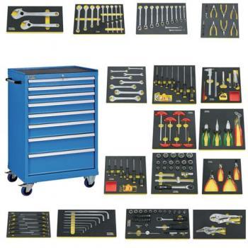 Thùng đồ nghề 8 ngăn 178 chi tiết FUTURO - 540160.0100-178