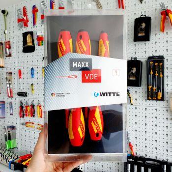 Bộ tô vít WITTE cách điện 1000v - Made In Germany