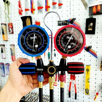 Bộ đồng hồ ga đôi TASCO TB140SM - dành cho ga R410A
