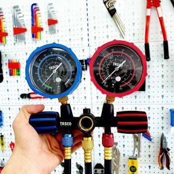 Bộ đồng hồ ga đôi TASCO TB120SM