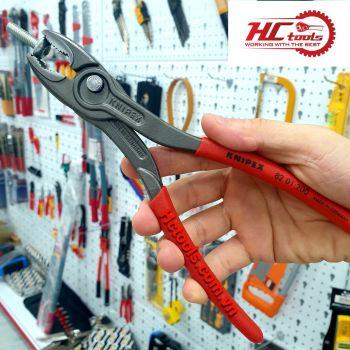 Knipex TwinGrip 82 01 200 Kìm mở ốc gỉ sét Made in Germany