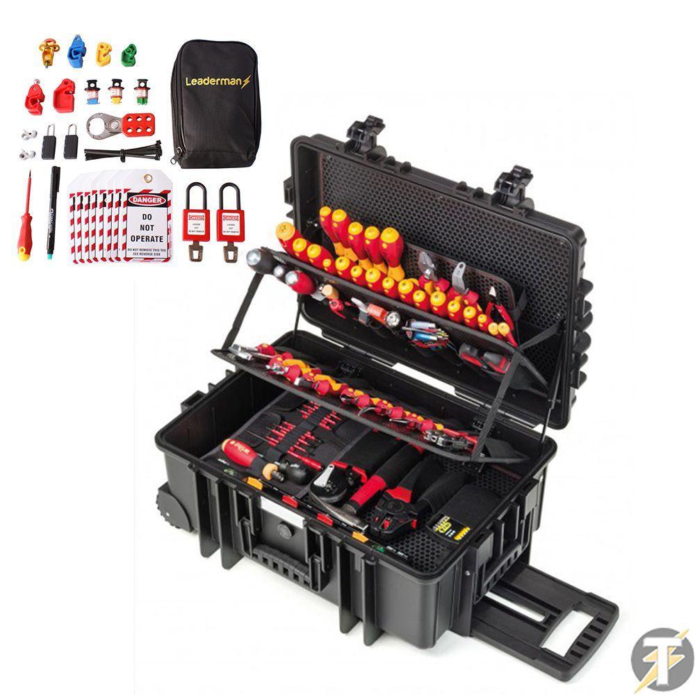 9300704 - Bộ dụng cụ cách điện 1000V WIHA 115 chi tiết - 42069
