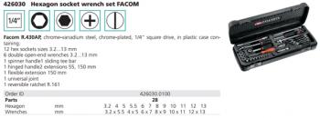 R.430AP- Bộ sửa chữa đa năng FACOM- 426030.0100