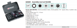 467S.BOXPB- Bộ cờ lê, khẩu FACOM- 426025.0100
