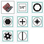 RL.NANO1-Bộ tô vít 38 chi tiết FACOM- 426017.0100