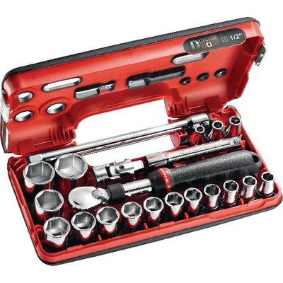Bộ khẩu tay vặn 1/2 inch FACOM - 428516