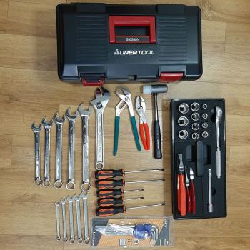 Bộ đồ nghề 46 chi tiết SUPERTOOL - S6300N (Tool Set)