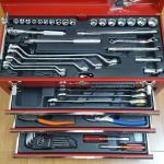Thùng dụng cụ 4 ngăn 70 chi tiết Supertool -S8000DX