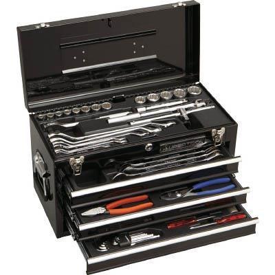 Thùng dụng cụ 4 ngăn 62 chi tiết Supertool -S7000DX