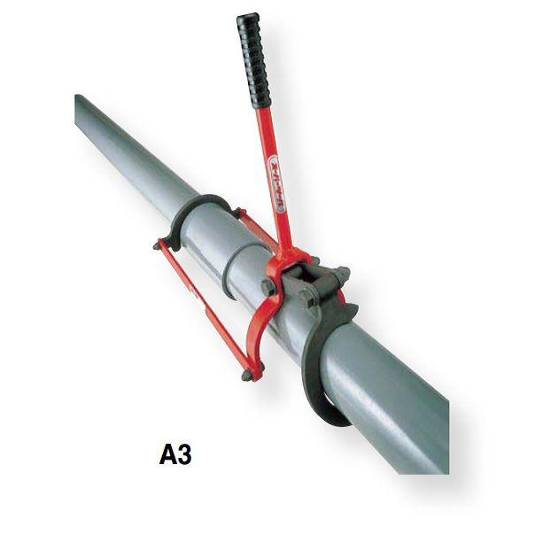 Vam nối ống nhựa 75-200 mm SUPERTOOL - # A3-A8