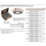 Bộ căn mẫu song song SUPER kiểu bước - PPP200SA (Thin type precision steel parallel set - stepped type)