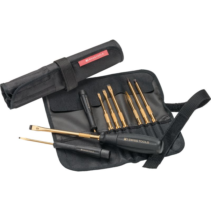 PB 8218-G140Y - Bộ tô vít mạ vàng PB Swiss Tools - 436084.0100