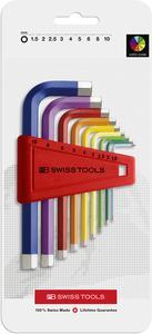 PB 210H | Bộ lục giác thân ngắn màu PB SWISS TOOLS - 424430
