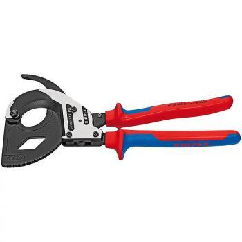 Kìm cắt cáp bánh cóc Knipex- 9532320 (Cable cutter ratchet type)