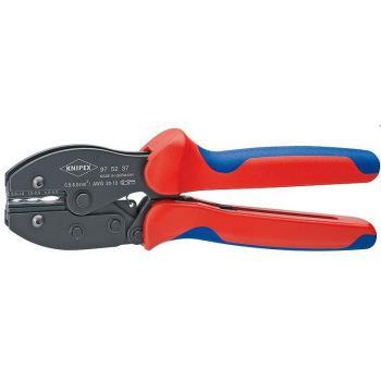 Kìm ép cos 3 màu RV Knipex - 9752-36 (Crimp lever plier Preciforce)