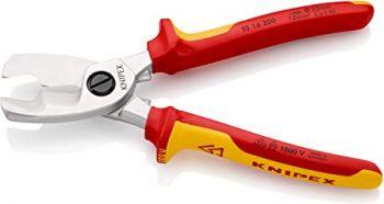 Kìm cắt cáp cách điện 1000V Knipex - 9516-200