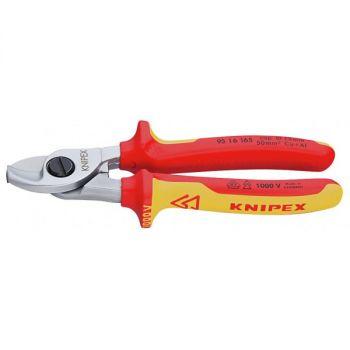 Kìm cắt cáp cách điện 1000V Knipex - 9516-165