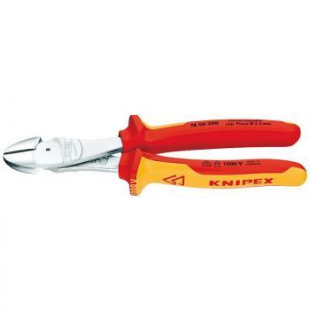 Kìm cắt trợ lực cách điện 1000V Knipex - 7406-250